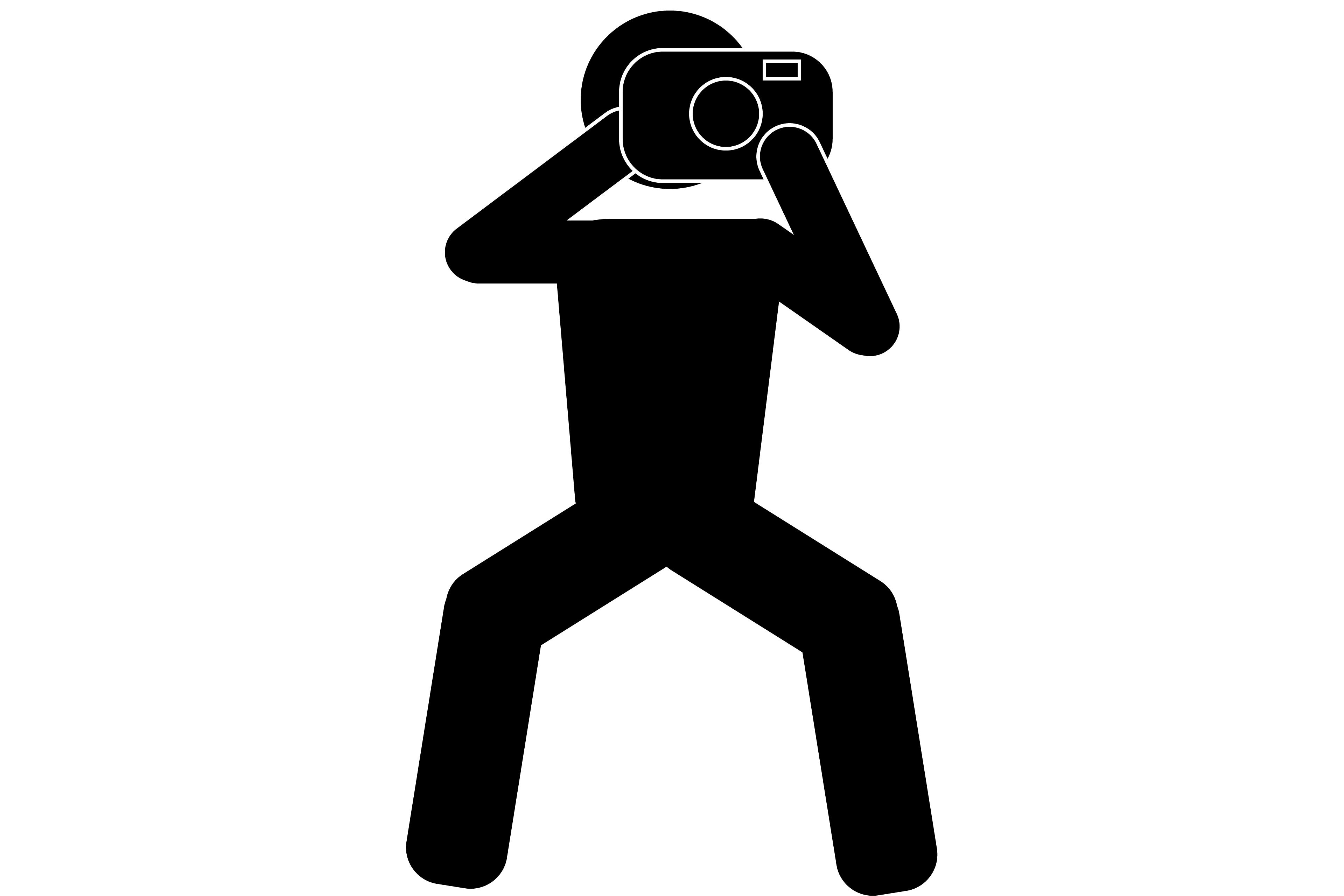 Fotografieren strichmaenchen