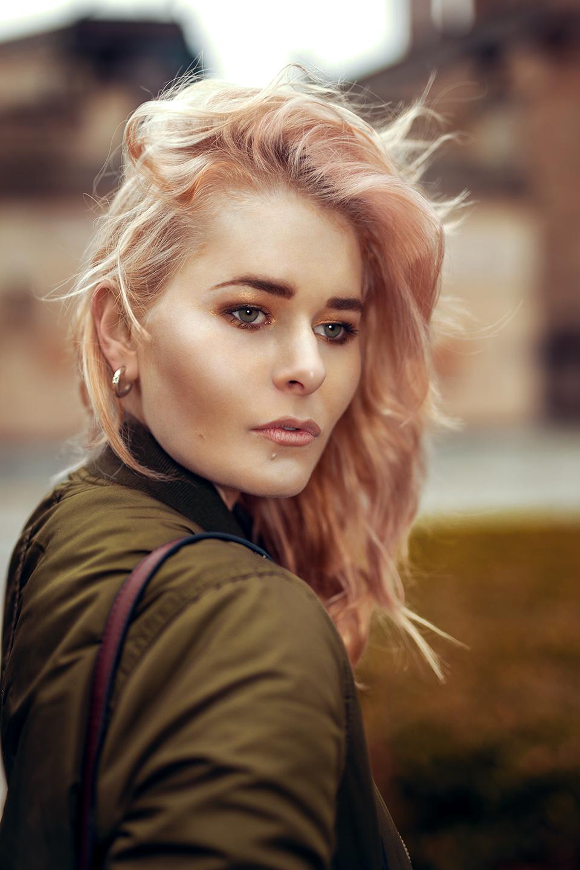 Rose Gold Haare