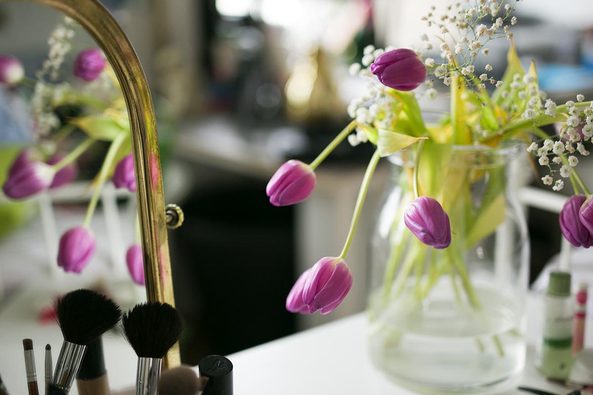 Frühlings Make-Up