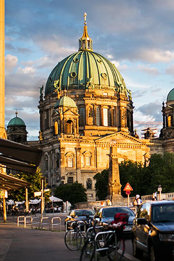 Berliner Dom Doppelbelichtung