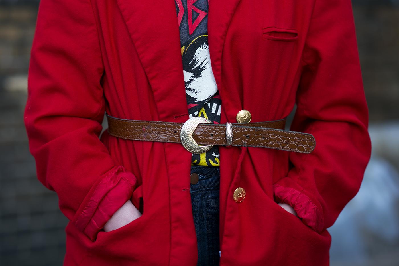 Taillengürtel Blazer Outfit
