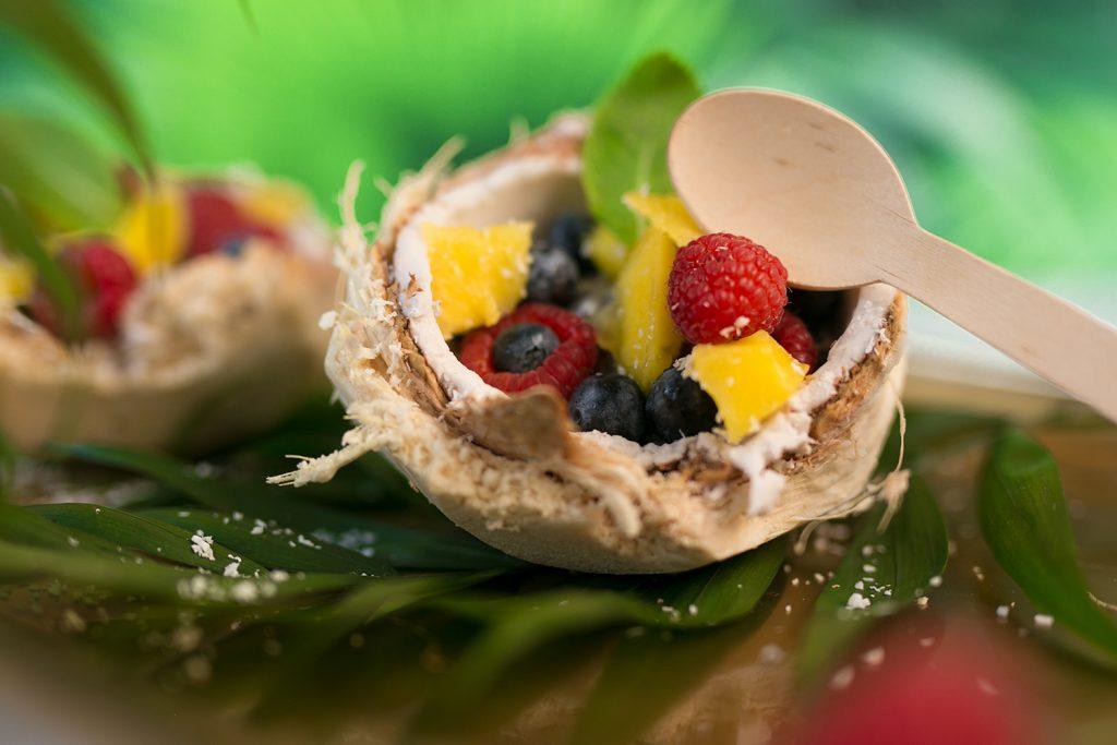 Veganes Kokosnuss Dessert