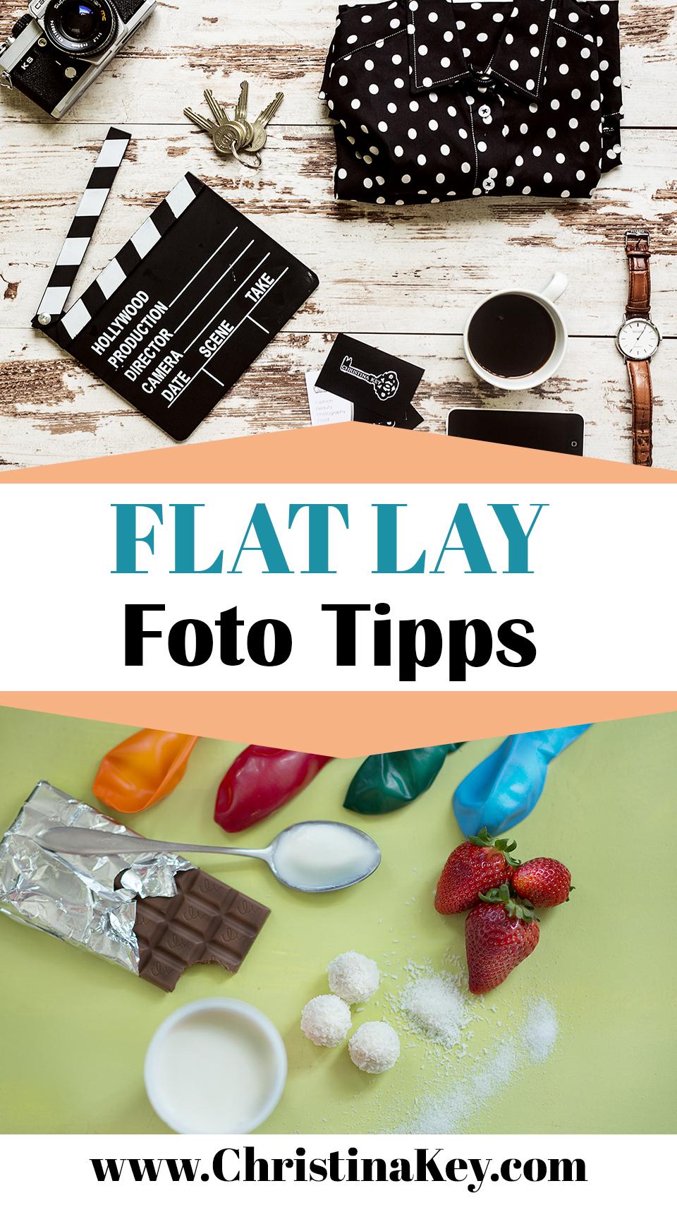 Flat Lay Tipps Fotografie
