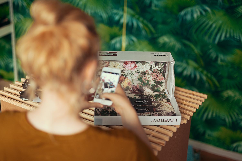 DIY Lightbox Hintergrund System Low Budget