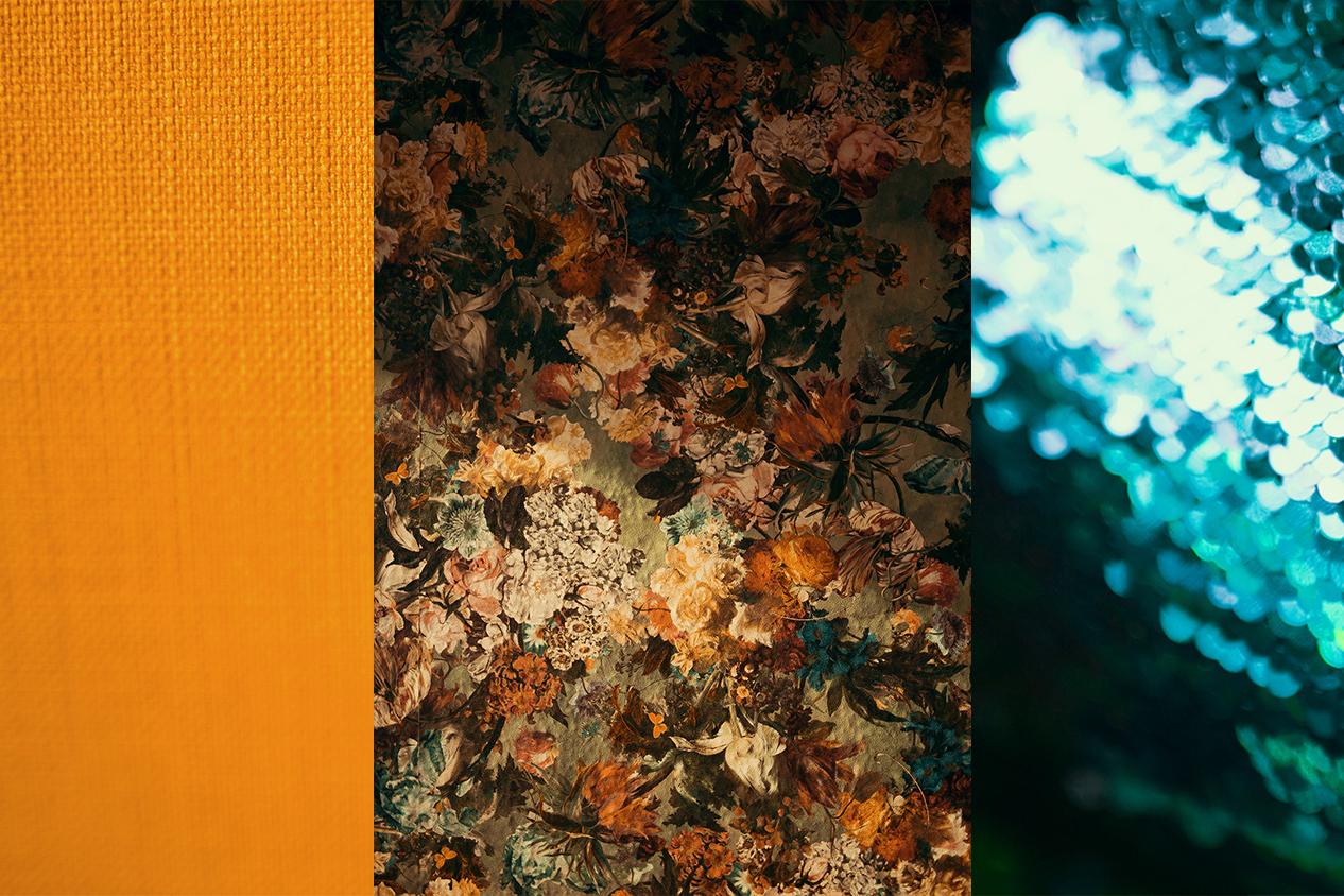 Farben Harmonie Strukturen