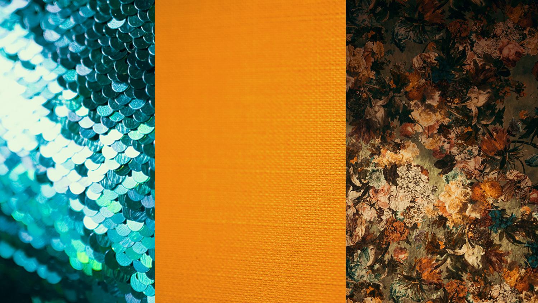 Farben Harmonie Strukturen Beispiel