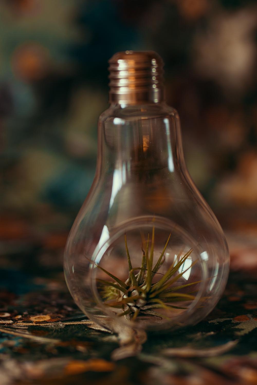 Glühbirne ohne Aufheller