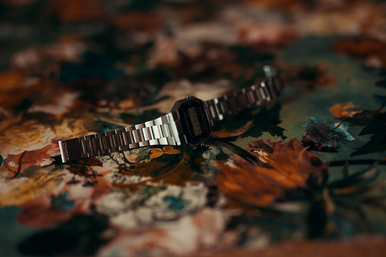Uhr fotografiert mit natürlichem Licht Tipps