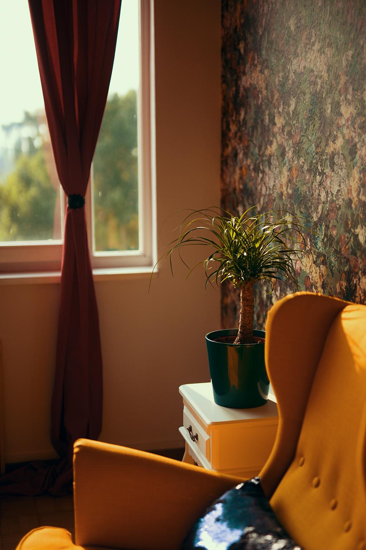 Wohnzimmer Einrichtung mit Rasch Tapeten