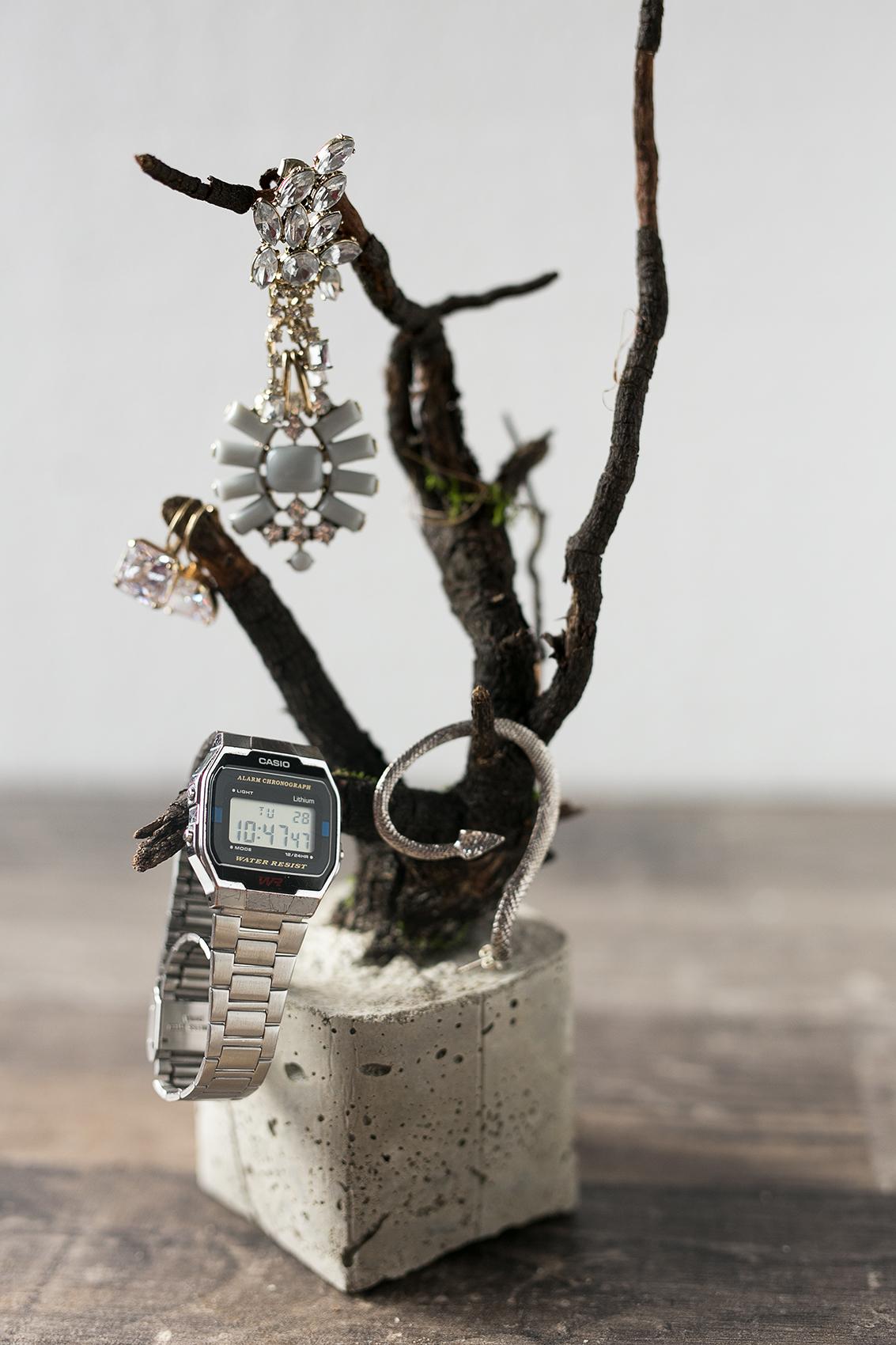 Beton Baum DIY Projekt Schmuckbaum