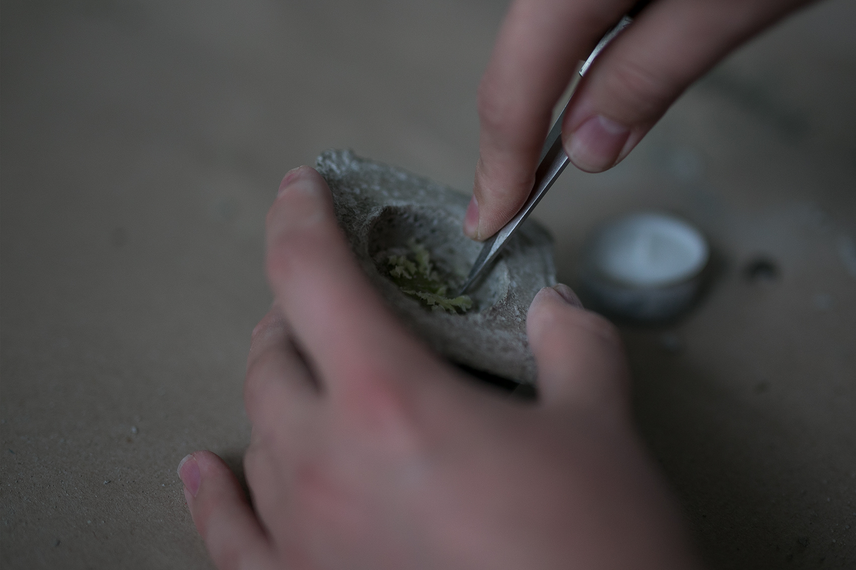 Herstellung Beton Kerzenhalter