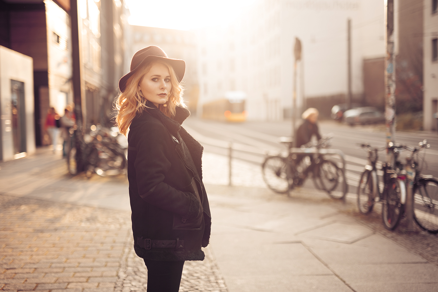 Winter Outfit mit Superdry Jacke