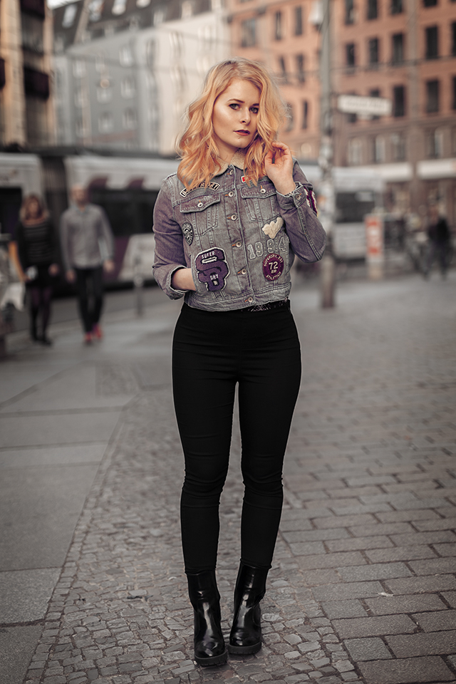 Jeansjacke Outfit Christina Key