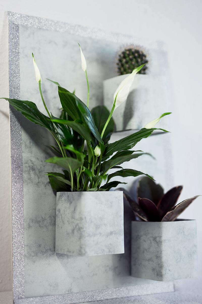 Vertikaler Garten DIY Low Budget Idee