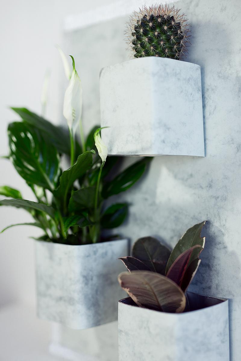 Vertikaler Garten DIY Low Budget