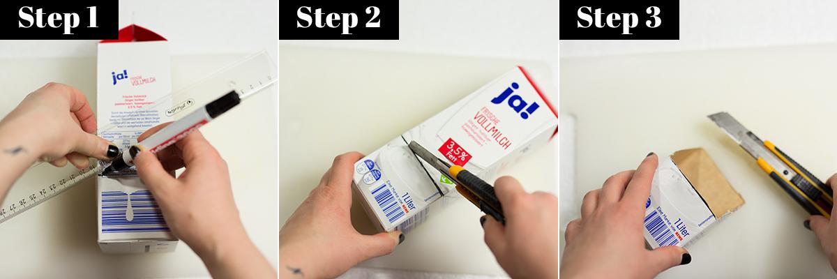 Anleitung für Pinselhalter DIY Low Budget