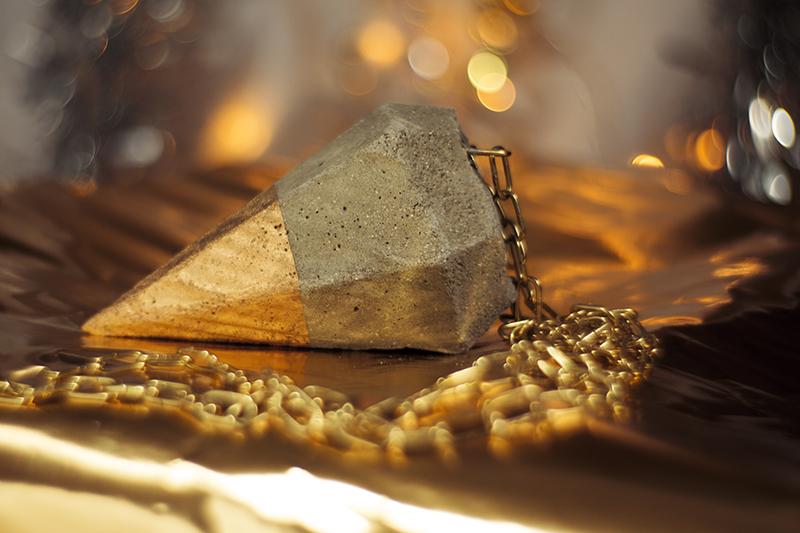 Beton Diamant DIY Idee
