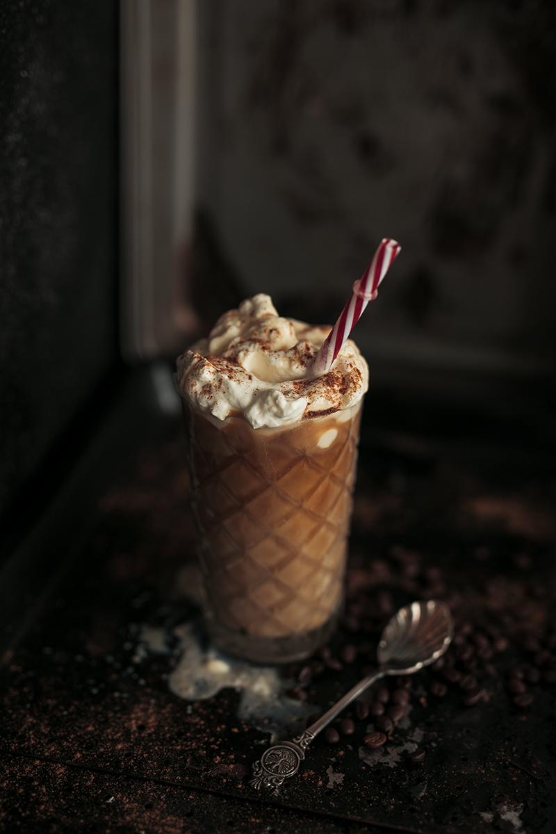 Cremiger Schoko Kaffee Rezept mit Schuss Bild