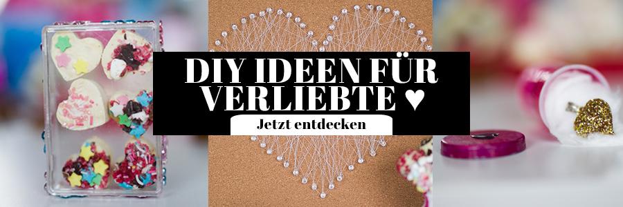 DIY Ideen Valentinstag Verliebte