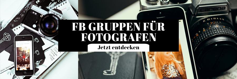 Facebook Gruppen für Fotografen