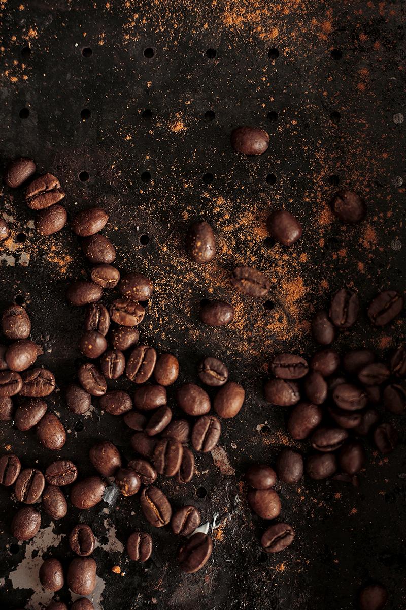 Foto von Kaffee Bohnen für Cremiger Schoko Kaffee Rezept mit Schuss
