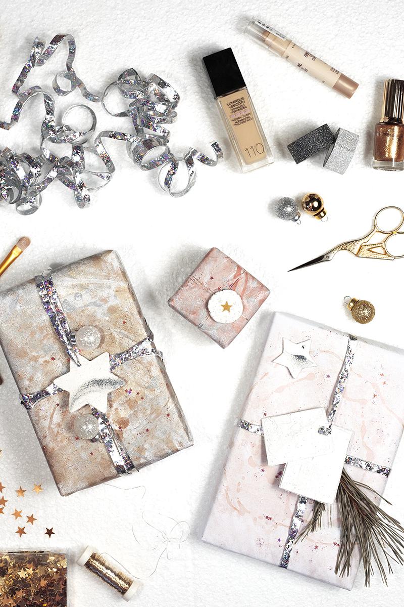 Geschenkpapier DIY low budget