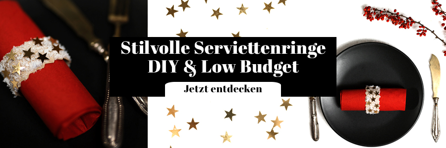 Serviettenringe DIY Low Budget