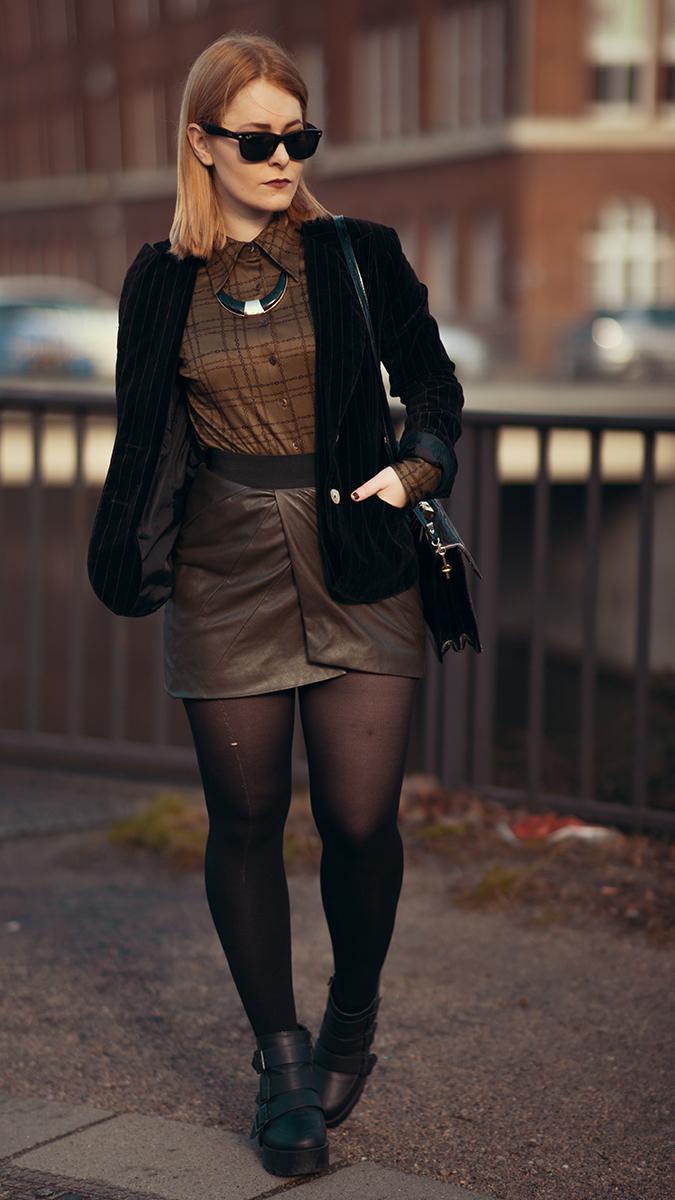 Sexy Silvester Outfit für Damen mit Mini Rock