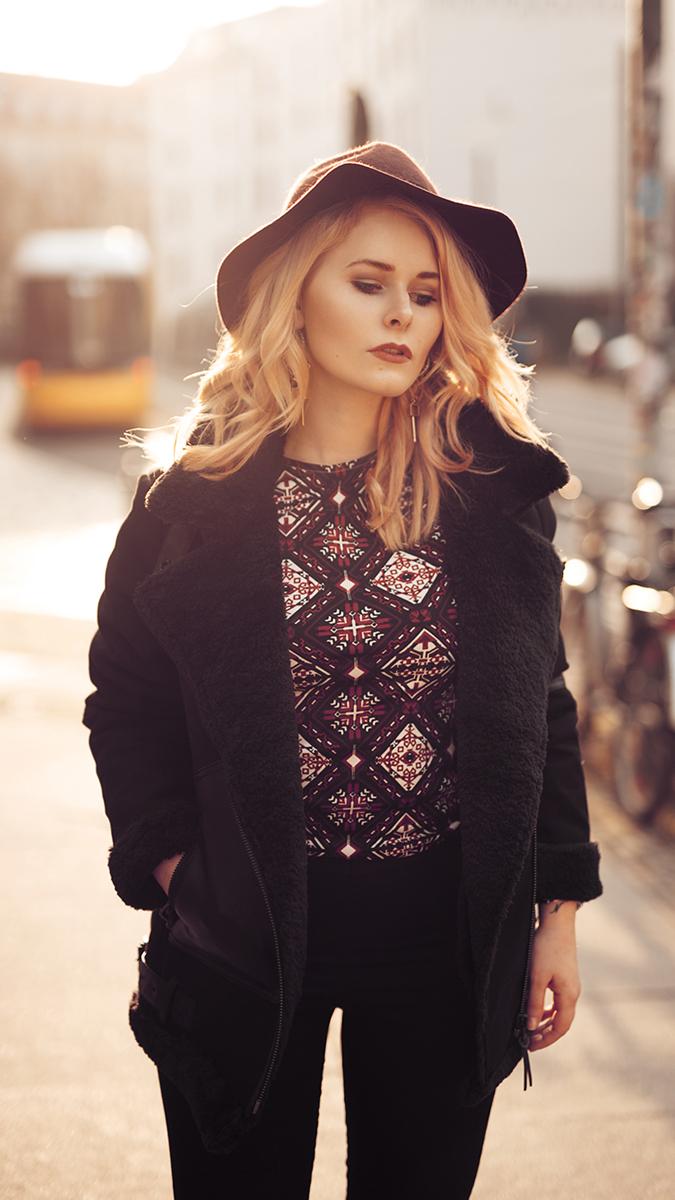 Silvester Outfit für Damen mit Hut