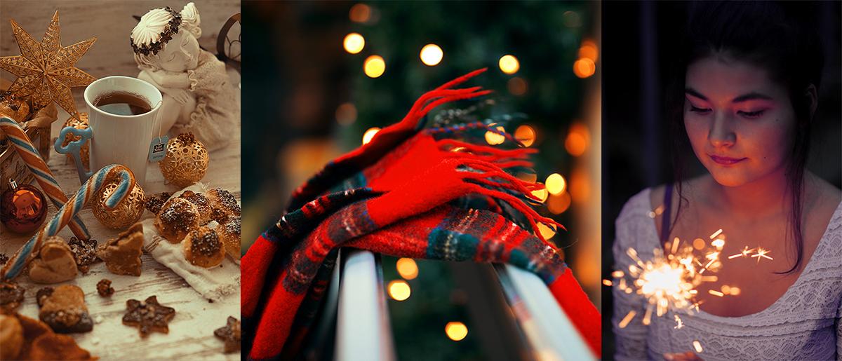 Typische Motive für weihnachtliche Fotos nutzen
