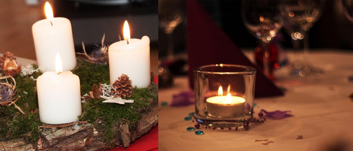 Verwendung von Blitz für Weihnachtsfotos
