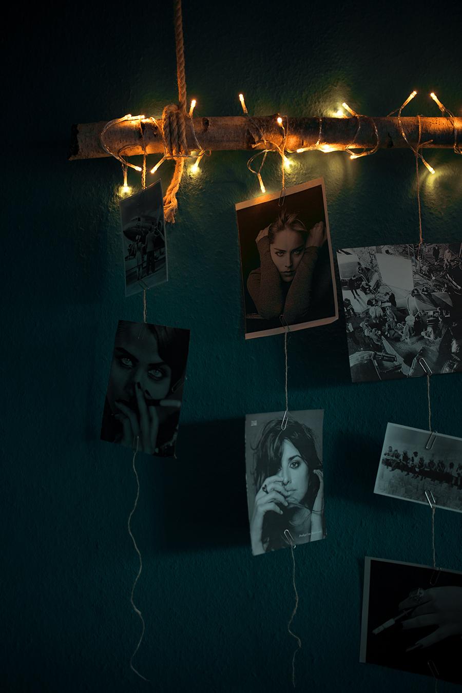 Diy Fotowand mit Birkenstamm mit Bildern