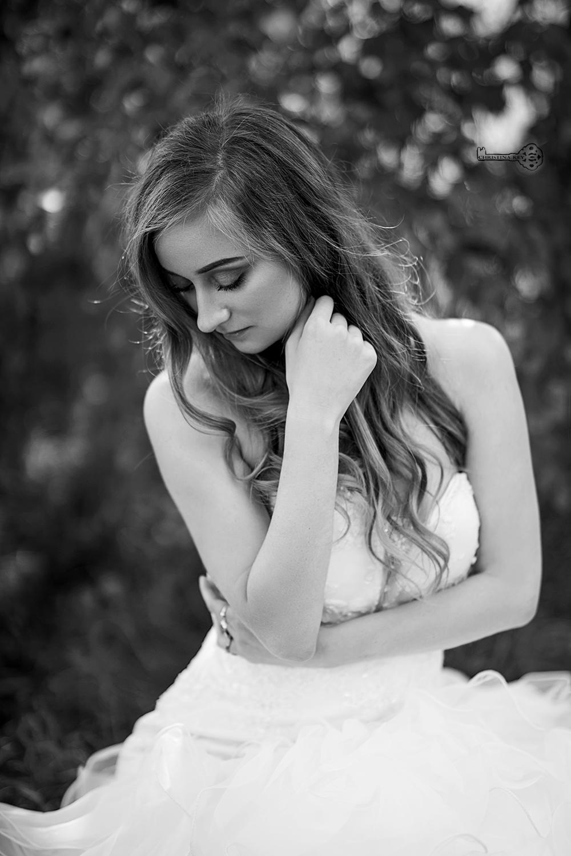 Fotoshooting im Hochzeitskleid und Video Henriette Münch