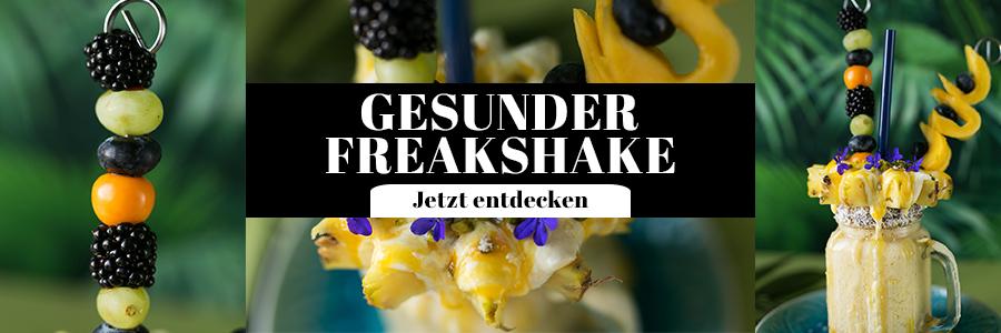 Gesunder Freakshake Rezept
