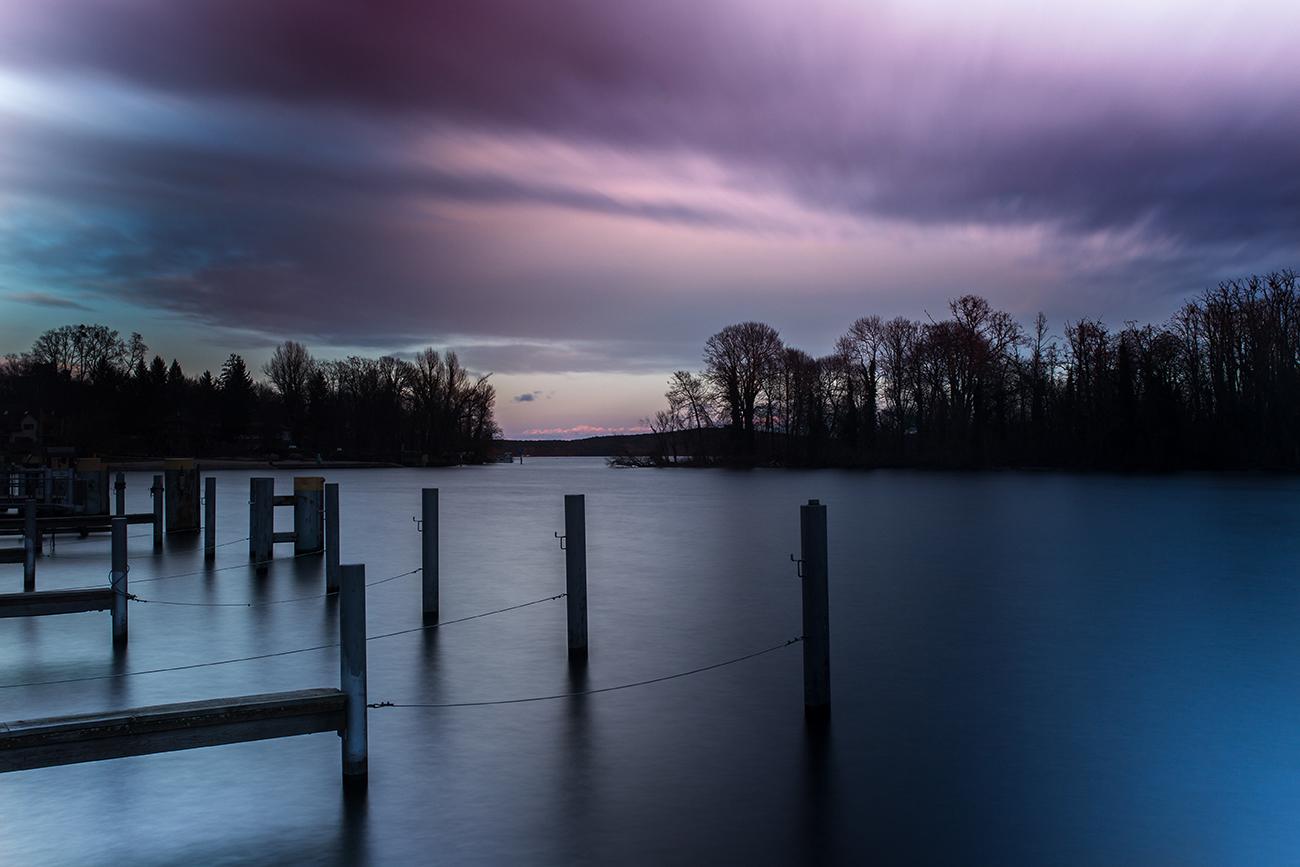 Langzeitbelichtung am See - Fotografie Tipps Landschafts Fotos
