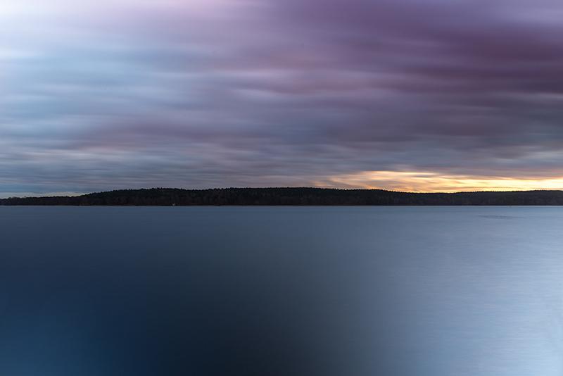 Langzeitbelichtung am See - Fotografie Tipps