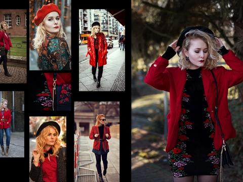 Rot kombinieren & Foto Tipps für Fashion Blogger Bilder