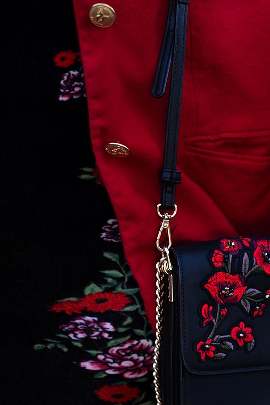 Rot kombinieren & Foto Tipps für Fashion Blogger Details