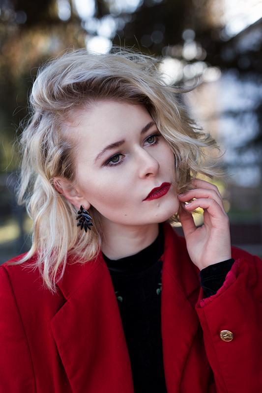 Rot kombinieren & Foto Tipps für Fashion Blogger Outfit Christina Key