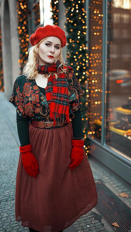 Rot kombinieren & Foto Tipps für Fashion Blogger Outfit in rot