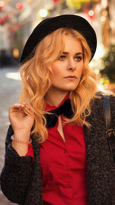Rot kombinieren & Foto Tipps für Fashion Blogger Rote Bluse