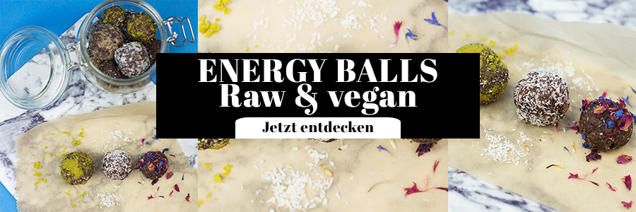 Energy Balls Rezept vegan raw