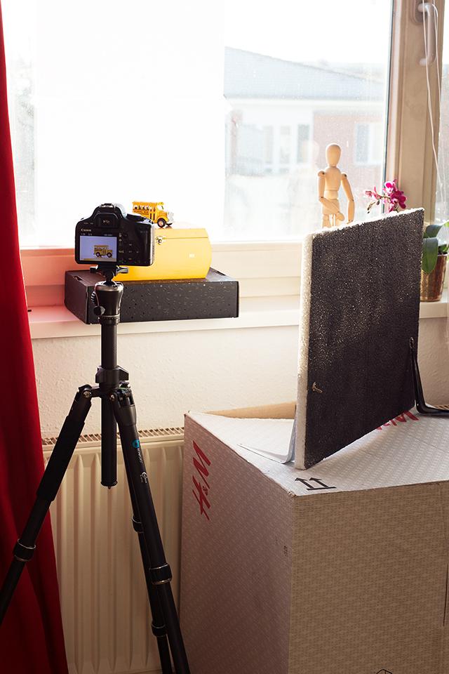 Home Studio Low Budget Fotografie Tipps