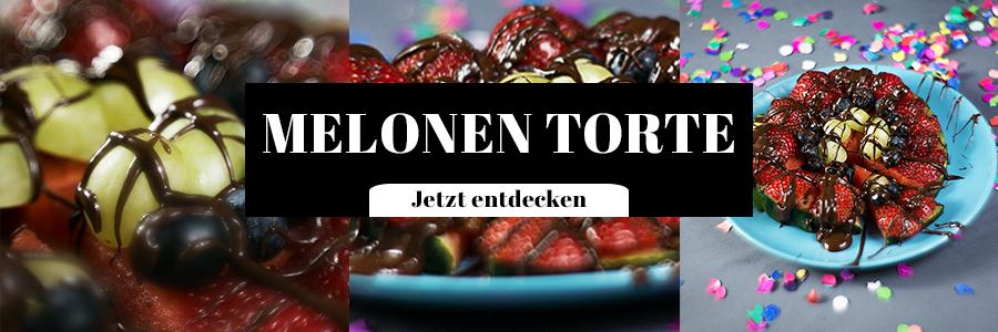 Melonen Torte Rezept Idee