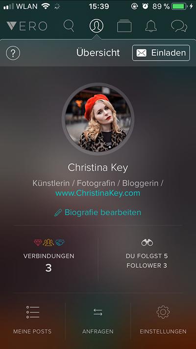 Vero App Christina Key