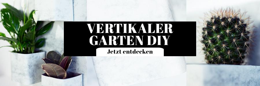 Vertikaler Garten DIY Idee Marmor