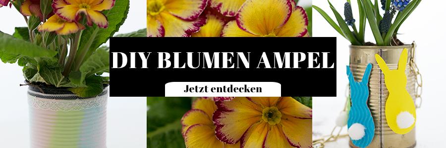 DIY Blumen Ampel
