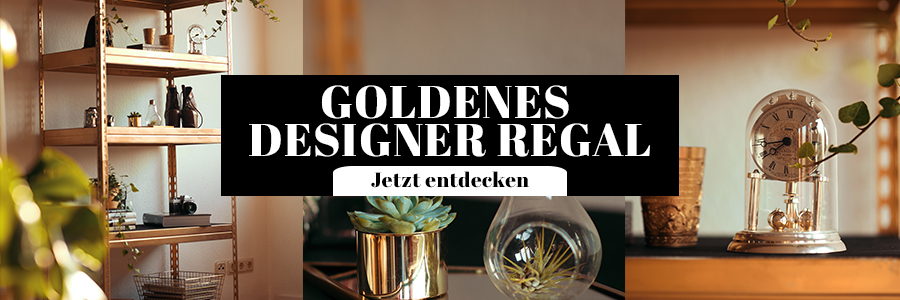 DIY Designer Regal Gold