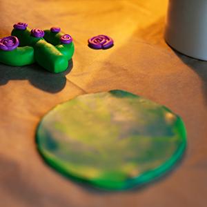 DIY Fimo Schmuckschachtel mit Kaktus Backofen