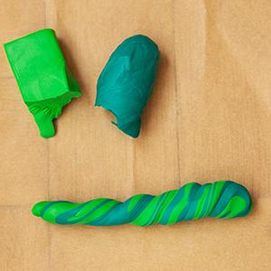 DIY Fimo Schmuckschachtel mit Kaktus Vorbereitung